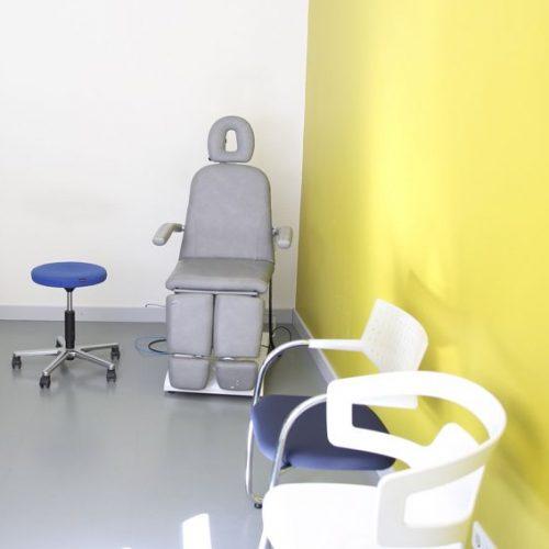 Behandlungsraum gruen